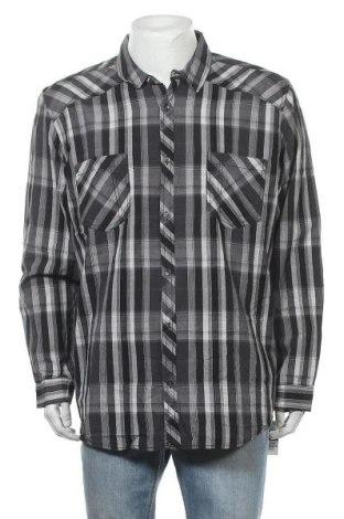 Мъжка риза INC International Concepts, Размер XXL, Цвят Сив, Памук, Цена 35,70лв.