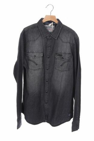 Ανδρικό πουκάμισο Riders, Μέγεθος S, Χρώμα Γκρί, Βαμβάκι, Τιμή 11,25€
