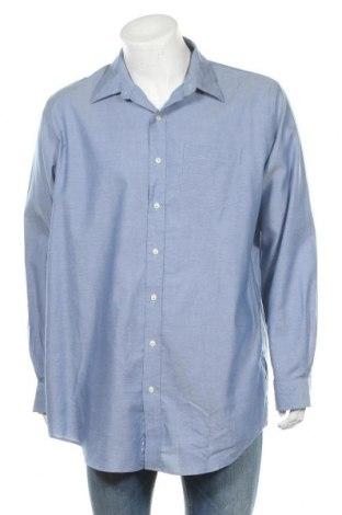 Мъжка риза L.L. Bean, Размер L, Цвят Сив, Памук, Цена 14,96лв.