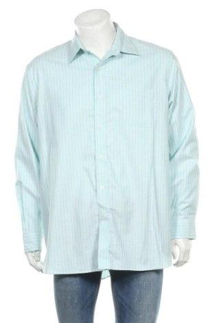 Мъжка риза Land's End, Размер XL, Цвят Син, Памук, Цена 17,01лв.