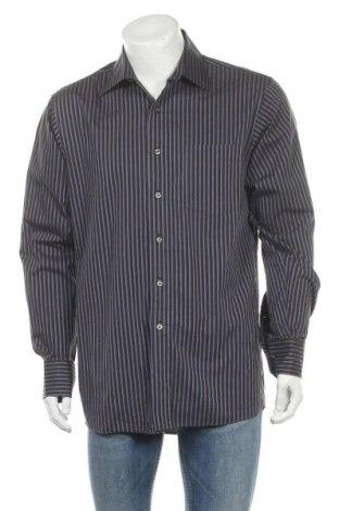 Мъжка риза MICHAEL Michael Kors, Размер L, Цвят Кафяв, Памук, Цена 28,60лв.
