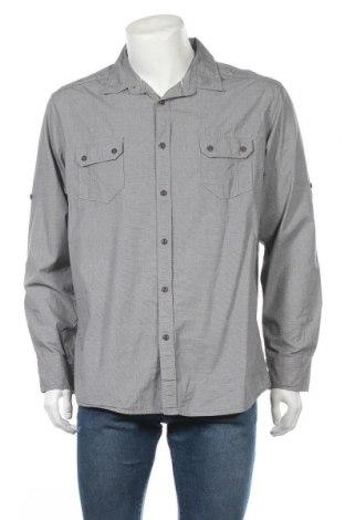 Мъжка риза Maddox, Размер XXL, Цвят Сив, Памук, Цена 18,90лв.