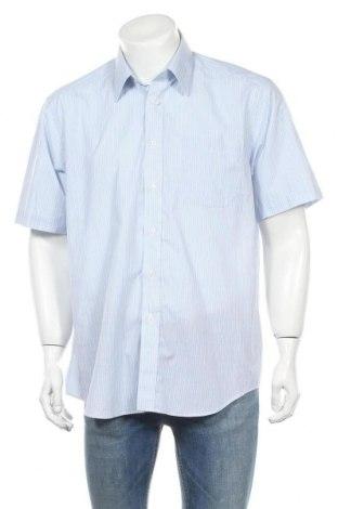 Мъжка риза Marks & Spencer, Размер L, Цвят Син, 65% полиестер, 35% памук, Цена 19,50лв.