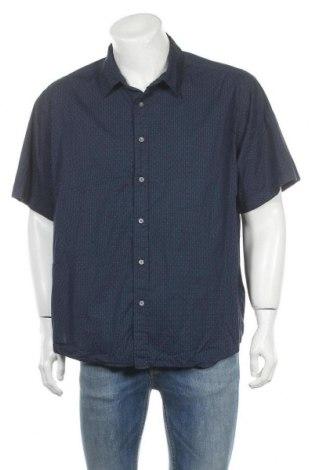 Мъжка риза Marvin Richards, Размер XXL, Цвят Син, 97% памук, 3% еластан, Цена 13,44лв.