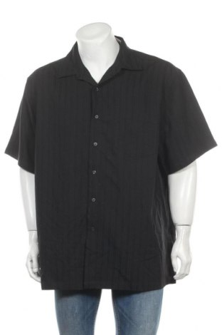 Мъжка риза Marvin Richards, Размер XXL, Цвят Черен, 60% модал, 40% полиестер, Цена 27,30лв.