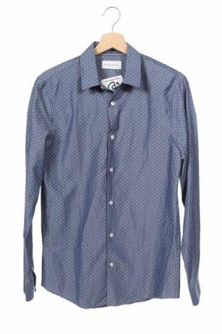Мъжка риза Pier One, Размер S, Цвят Син, 50% памук, 50% полиестер, Цена 5,02лв.
