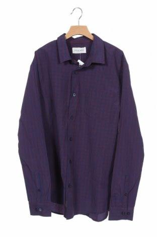 Ανδρικό πουκάμισο Pier One, Μέγεθος S, Χρώμα Μπλέ, 50% βαμβάκι, 50% πολυεστέρας, Τιμή 2,02€