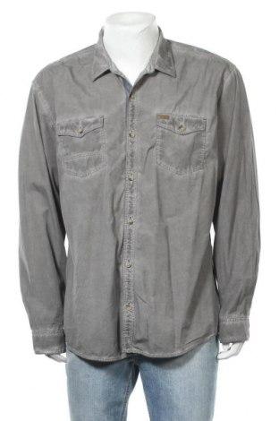 Мъжка риза Q/S by S.Oliver, Размер XXL, Цвят Сив, Памук, Цена 17,85лв.