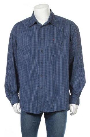 Мъжка риза Red Green, Размер XXL, Цвят Син, Памук, Цена 22,05лв.