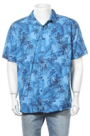 Ανδρικό πουκάμισο Rivers, Μέγεθος XXL, Χρώμα Μπλέ, 100% βαμβάκι, Τιμή 6,75€