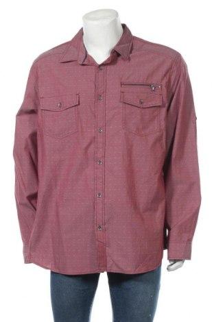 Ανδρικό πουκάμισο Rock & Republic, Μέγεθος XXL, Χρώμα Κόκκινο, Βαμβάκι, Τιμή 17,73€