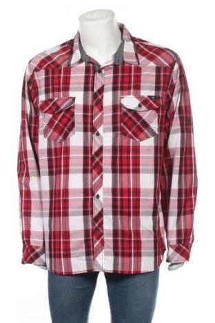 Ανδρικό πουκάμισο Rock & Republic, Μέγεθος XXL, Χρώμα Πολύχρωμο, 55% βαμβάκι, 45% πολυεστέρας, Τιμή 6,79€