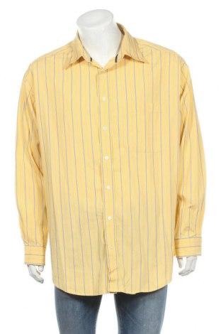 Мъжка риза Roundtree & Yorke, Размер XXL, Цвят Жълт, Памук, Цена 5,51лв.