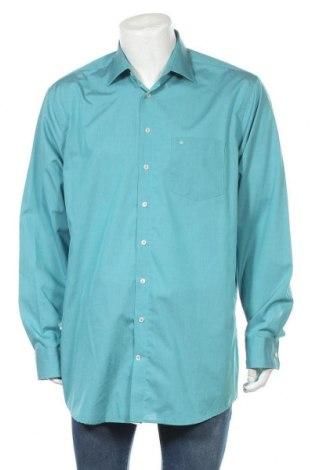Мъжка риза Seidensticker, Размер XL, Цвят Син, Памук, Цена 13,39лв.