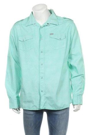 Мъжка риза Smog, Размер XXL, Цвят Бял, Памук, Цена 10,97лв.
