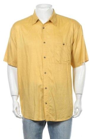 Ανδρικό πουκάμισο Solutions, Μέγεθος XL, Χρώμα Κίτρινο, Βισκόζη, Τιμή 7,73€