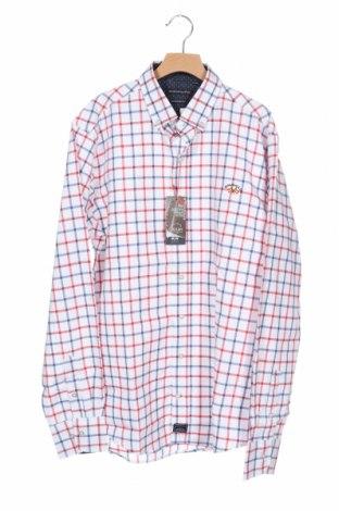 Ανδρικό πουκάμισο Spagnolo, Μέγεθος S, Χρώμα Πολύχρωμο, 60% βαμβάκι, 40% πολυεστέρας, Τιμή 12,45€
