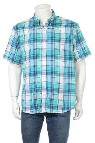 Мъжка риза Tommy Hilfiger, Размер XXL, Цвят Многоцветен, Памук, Цена 23,89лв.