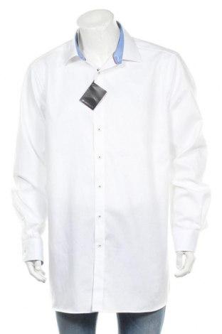 Мъжка риза Walbusch, Размер XXL, Цвят Бял, Памук, Цена 37,80лв.