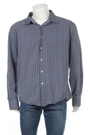 Ανδρικό πουκάμισο William, Μέγεθος XXL, Χρώμα Μπλέ, Βαμβάκι, Τιμή 6,75€