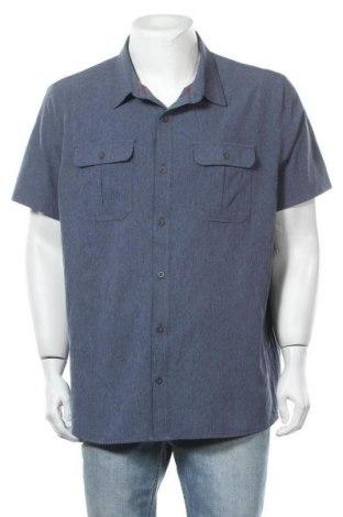 Ανδρικό πουκάμισο ZeroXposur, Μέγεθος XXL, Χρώμα Μπλέ, 93% πολυεστέρας, 7% ελαστάνη, Τιμή 7,79€