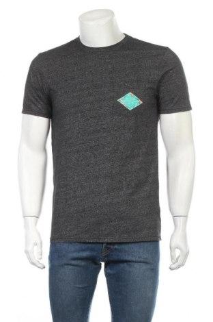Мъжка тениска Rip Curl, Размер M, Цвят Сив, Цена 17,96лв.