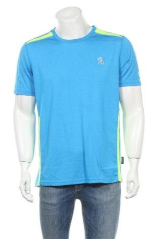 Мъжка тениска, Размер XL, Цвят Син, Полиестер, Цена 13,39лв.