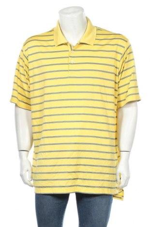 Ανδρικό t-shirt Adidas, Μέγεθος XXL, Χρώμα Κίτρινο, Πολυεστέρας, Τιμή 15,59€
