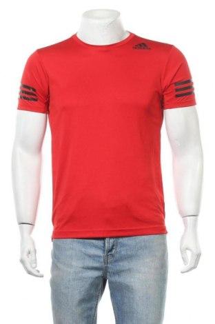 Ανδρικό t-shirt Adidas, Μέγεθος S, Χρώμα Κόκκινο, Πολυεστέρας, Τιμή 17,28€