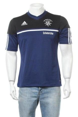 Ανδρικό t-shirt Adidas, Μέγεθος M, Χρώμα Μπλέ, Πολυεστέρας, Τιμή 16,66€