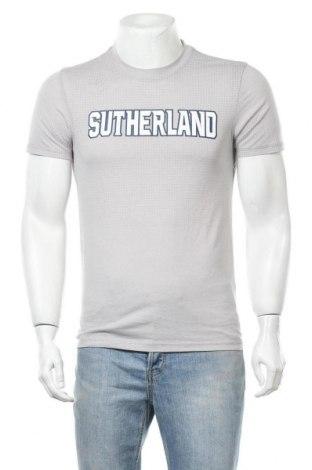 Ανδρικό t-shirt Adidas, Μέγεθος S, Χρώμα Γκρί, 65% πολυεστέρας, 35% βαμβάκι, Τιμή 16,89€