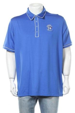 Ανδρικό t-shirt Adidas, Μέγεθος XL, Χρώμα Μπλέ, 95% πολυεστέρας, 5% ελαστάνη, Τιμή 13,64€