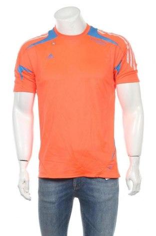 Ανδρικό t-shirt Adidas, Μέγεθος M, Χρώμα Πορτοκαλί, Πολυεστέρας, Τιμή 10,00€