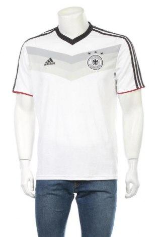 Ανδρικό t-shirt Adidas, Μέγεθος M, Χρώμα Λευκό, Πολυεστέρας, Τιμή 33,77€