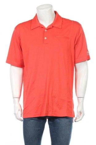 Ανδρικό t-shirt Adidas, Μέγεθος L, Χρώμα Κόκκινο, 95% πολυεστέρας, 5% ελαστάνη, Τιμή 16,56€