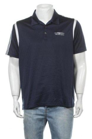 Ανδρικό t-shirt Adidas, Μέγεθος L, Χρώμα Μπλέ, Πολυεστέρας, Τιμή 5,00€