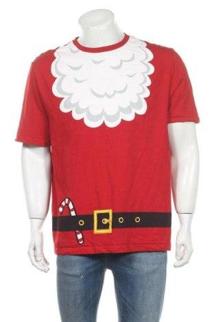 Мъжка тениска Alpha, Размер XXL, Цвят Червен, Памук, Цена 18,90лв.