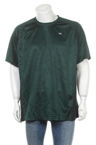 Ανδρικό t-shirt Athletic Works, Μέγεθος XXL, Χρώμα Πράσινο, Πολυεστέρας, Τιμή 4,42€
