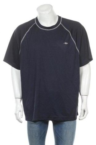 Ανδρικό t-shirt Athletic Works, Μέγεθος XXL, Χρώμα Μπλέ, Πολυεστέρας, Τιμή 5,52€