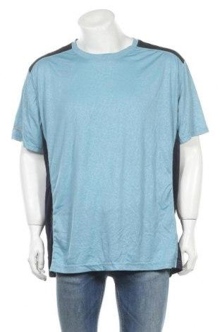 Ανδρικό t-shirt Athletic Works, Μέγεθος XXL, Χρώμα Μπλέ, Πολυεστέρας, Τιμή 4,97€
