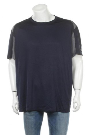 Ανδρικό t-shirt Athletic Works, Μέγεθος XXL, Χρώμα Μπλέ, Πολυεστέρας, Τιμή 9,94€