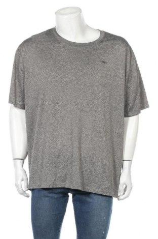 Ανδρικό t-shirt Athletic Works, Μέγεθος 4XL, Χρώμα Γκρί, Τιμή 9,74€
