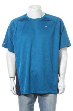 Ανδρικό t-shirt Athletic Works, Μέγεθος XXL, Χρώμα Μπλέ, Πολυεστέρας, Τιμή 5,26€