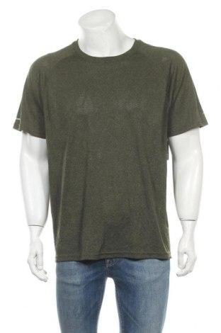 Ανδρικό t-shirt Athletic Works, Μέγεθος L, Χρώμα Πράσινο, Πολυεστέρας, Τιμή 16,37€
