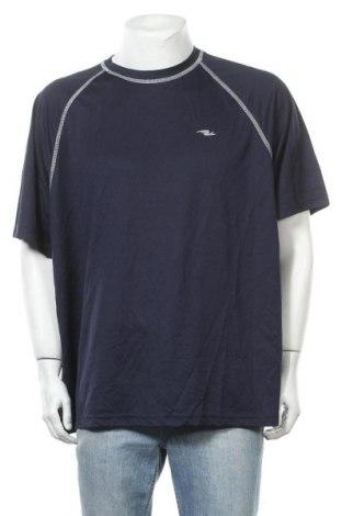 Ανδρικό t-shirt Athletic Works, Μέγεθος XXL, Χρώμα Μπλέ, Πολυεστέρας, Τιμή 4,68€