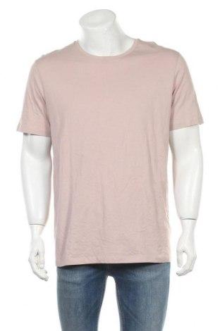 Мъжка тениска COS, Размер XL, Цвят Розов, Памук, Цена 33,92лв.