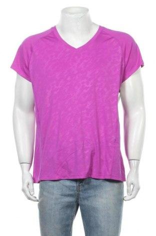 Ανδρικό t-shirt Champion, Μέγεθος XXL, Χρώμα Βιολετί, Πολυεστέρας, Τιμή 19,12€