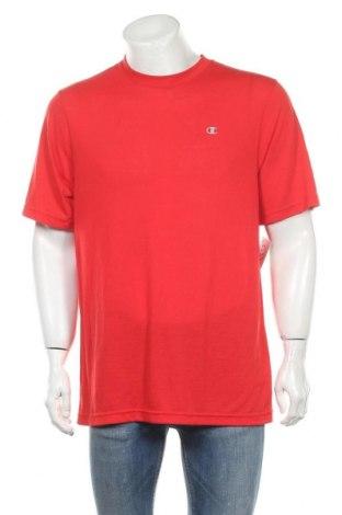 Ανδρικό t-shirt Champion, Μέγεθος L, Χρώμα Κόκκινο, 100% πολυεστέρας, Τιμή 7,27€