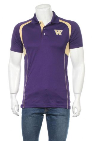 Ανδρικό t-shirt Champion, Μέγεθος S, Χρώμα Βιολετί, Πολυεστέρας, Τιμή 11,11€