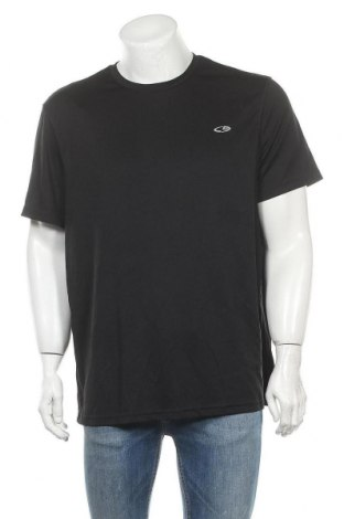 Ανδρικό t-shirt Champion, Μέγεθος XXL, Χρώμα Μαύρο, Πολυεστέρας, Τιμή 9,55€